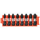 Bosch CCSPHV108 8-Piece Impact Tough Phillips 1 in. Insert Bits with Clip for Custom Case System