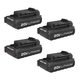 Porter-Cable PCC681L4 20V MAX Lithium Ion Battery (4-pack)