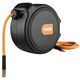 Freeman P1465CHR 65 ft. Compact Retractable Air Hose Reel with 1/4 in. Hybrid Air hose and 180-Degrees Swivel Wall Mount