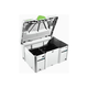 Festool 497690 Systainer with Insert for 6 in. Abrasives