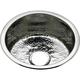 Elkay SCF16FBSH Dual Mount 16-3/8 in. x 16-3/8 in. Single Bowl Bar Sink with Hammered Mirror (Stainless Steel)