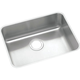 Elkay ELUH2115 Lustertone Undermount 23-1/2 in. x 18-1/4 in. Single Bowl Sink (Stainless Steel)