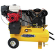 EMAX EGES0817WL Industrial Plus 8 HP 19 CFM 17 Gal. Truck Mount Portable Honda Gasoline Air Compressor