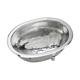 Elkay SCF1611SH Asana Dual Mount 17 in. x 12 in. Single Bowl Bathroom Sink (Stainless Steel)