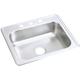 Elkay D125213 Dayton Top Mount 25 in. x 21-1/4 in. Single Bowl Sink (Stainless Steel)