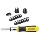 Stanley 54-925 29 Piece Multibit Ratcheting Screwdriver Set