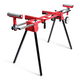 General International MS3102 Miter Saw Stand with Solid 5.75 in. Tires
