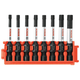 Bosch CCSTV208 8-Piece Impact Tough Torx 2 in. Power Bits with Clip for Custom Case System