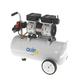 Quipall 6-1-SIL Oil Free Silent Compressor, 1.0 HP, 6.3 Gallon, Steel Tank