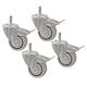 Kreg PRS3090 3 in.Dual Locking Caster Set (Set of 4)