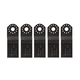 Bosch OSC138JF-5 1-3/8 in. BIM Wood Japanese Tooth Plunge Blade (5-Pack)