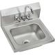 Elkay CHSB1716C 16-3/4 in. x 15-1/2 in. x 13 in., Single Bowl Wall Hung Handwash Sink Kit (Stainless Steel)