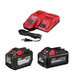 Milwaukee 48-59-1200P M18 REDLITHIUM High Output HD 12 Ah and 6 Ah Lithium-ion Battery (2-Pack) and Charger Kit