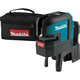 Makita SK106DZ 12V MAX CXT Lithium-Ion Cordless Self-Leveling Cross-Line/4-Point Red Beam Laser (Tool Only)