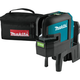 Makita SK106GDZ 12V MAX CXT Lithium-Ion Cordless Self-Leveling Cross-Line/4-Point Green Beam Laser (Tool Only)