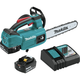 Makita XCU06T 18V LXT Lithium-Ion Brushless Cordless 10 in. Top Handle Chain Saw Kit (5.0Ah)