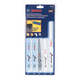 Bosch RAP10PK 10 Piece General Purpose Reciprocating Saw Blade Set With Cloth Pouch