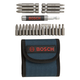 Bosch T4021 21-Piece Screwdriver Bit Set