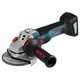 Factory Reconditioned Bosch GWS18V-45CN-RT 18V EC/ 4-1/2 in. Brushless Connected-Ready Angle Grinder (Tool Only)