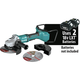 Makita XAG22ZU1 18V X2 LXT Lithium-Ion Brushless Cordless 7 in. Paddle Switch Cut-Off/Angle Grinder with Electric Brake and AWS  (Tool Only)
