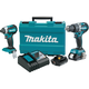 Factory Reconditioned Makita XT269R-R 18V Compact BL LXT Lithium-Ion Cordless 2-Piece Combo Kit (2.0 Ah)