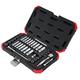Sunex 1436 36 Pc 1/4 in. Drive Chrome Socket Set