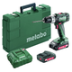 Metabo 602317520 18V SB 18 L Lithium-Ion Brushed 1/2 in. Cordless Hammer Drill Driver Kit (2 Ah)