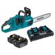 Makita XCU07PT 18V X2 (36V) LXT Lithium-Ion 5.0 Ah Brushless 14 in. Chain Saw Kit