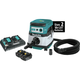 Makita XCV07PTX 18V X2 LXT Lithium-Ion (36V) 5.0 Ah Brushless 2.1 Gallon HEPA Filter Dry Dust Extractor Kit