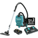 Makita XCV09PT 18V X2 LXT Lithium-Ion (36V) 5.0 Ah Brushless 1/2 Gallon HEPA Filter Backpack Dry Vacuum Kit