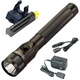 Streamlight 75832 Stinger Dual Switch LED Rechargeable Flashlight Extra Battery and Piggyback Charger (Black)