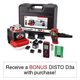 Leica 784100 ROTEO Premium Laser Package with BONUS DISTO D3a Laser Distance Meter