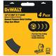 Dewalt DW8001B4 14 in. x 7/64 in. A24R High-Performance Metal Chop Saw Wheel 4-Pack