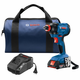 Factory Reconditioned Bosch GDX18V-1600B12-RT 18V 1/4 In. and 1/2 In. Two-In-One Socket-Ready Impact Driver Kit