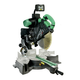 Hitachi C12LSH 12 in. Sliding Dual Compound Miter Saw with Laser Guide and Digital LCD Display