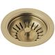 Delta 72010-CZ Kitchen Sink Flange and Strainer (Champagne Bronze)