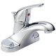 Delta B510LF 1-Handle Centerset Bathroom Faucet (Chrome)