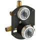 Delta R22000 MultiChoice Universal Integrated Shower Diverter Rough Universal Inlets / Outlets