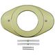 Delta RP29827PB Shower Renovation Cover Plate (Polished Brass)