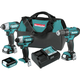Makita CT411 12V max CXT 1.5 Ah Lithium-Ion 4-Piece Combo Kit
