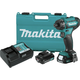 Makita FD10R1 12V max CXT Lithium-Ion Hex Brushless 1/4 in. Cordless Drill Driver Kit (2 Ah)