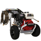Simpson 60735 Aluminum 3400 PSI 2.5 GPM Professional Gas Pressure Washer with CAT Triplex Pump (CARB)
