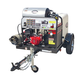 Simpson 95005 Trailer 4000 PSI 4.0 GPM Hot Water Mobile Washing System Powered by HONDA