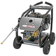 Simpson 65208 4400 PSI 4.0 GPM Direct Drive Medium Roll Cage Professional Gas Pressure Washer with Comet Pump