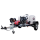 Simpson 95004 Trailer 4200 PSI 4.0 GPM Cold Water Mobile Washing System Powered by VANGUARD