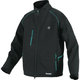 Makita DCJ205ZM 18V LXT Lithium-Ion Heated Jacket (Jacket Only) - Black, M