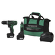 Hitachi KC10DKL HXP 12V Peak Cordless Lithium-Ion 3/8 in. Drill Driver and Mini Grinder Combo Kit