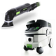 Festool P26567856 Deltex Detail Sander with CT 26 E 6.9 Gallon HEPA Mobile Dust Extractor