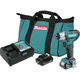 Makita WT04R1 12V max CXT Lithium-Ion Cordless 1/4 in. Impact Wrench Kit (2 Ah)