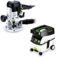 Festool PD574339 Plunge Router with CT MIDI 3.3 Gallon Mobile Dust Extractor